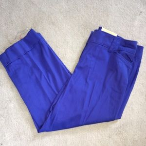 Dress Barn Blue Cropped Pants